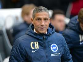 Hughton is happy with the progress his club have made during the transfer window. AFP