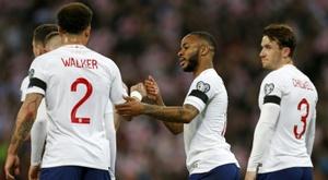 Les compos probables du match de qualification à l'Euro entre le Montenegro et l'Angleterre. AFP