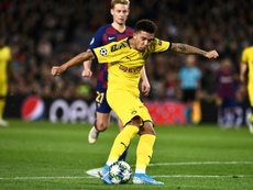 Sancho was dropped against Barcelona for disciplinary reasons. AFP