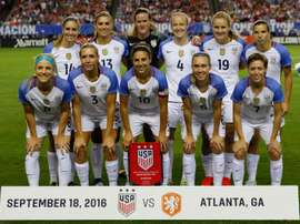 US women's football to host Japan, Aussies, Brazil in new event. AFP