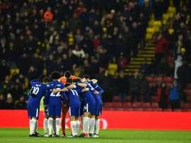 Chelsea se rend chez Watford. AFP