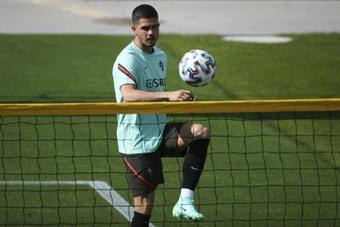 André Silva, el deseado del Tottenham ante una posible marcha de Kane. AFP