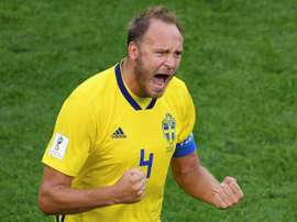 Manchester United chase Granqvist's experience. AFP