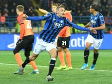 Champions League debutants Atalanta reach last 16. AFP