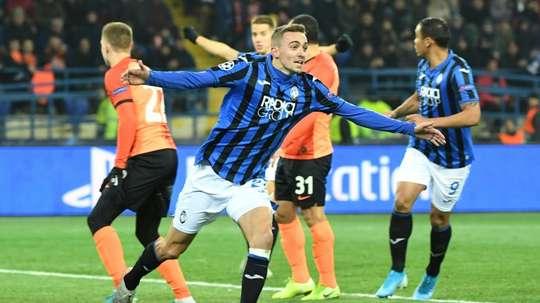 Champions League debutants Atalanta reach last 16. AFP