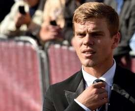 Kokorin is a prolific striker in Russia. AFP