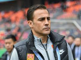 Cannavaro has decided to resign from his role as China coach. AFP