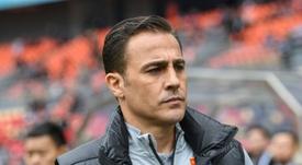 Cannavaro's future is looking bleak. AFP