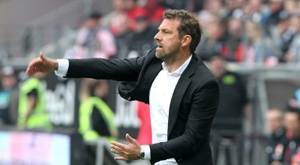 Markus Weinzierl has been sacked after a 6-0 loss to Augsburg. AFP