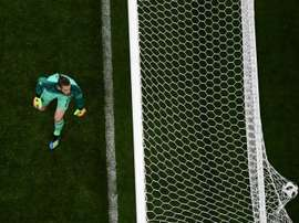 David De Gea was at fault for one, if not two, of the goals. AFP