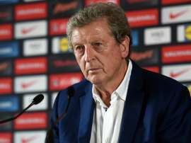 Hodgson was appointed as the replacement for Frank De Boer on Tuesday night. AFP