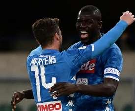 Il Napoli pensa il trasferimento di Koulibaly. AFP