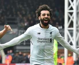 O Liverpool bateu o Crystal Palace por 1-2. AFP