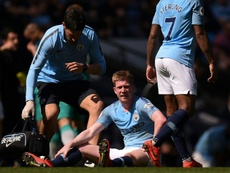 Kevin de Bruyne has no sympathy for Liverpool despite their superb season. AFP
