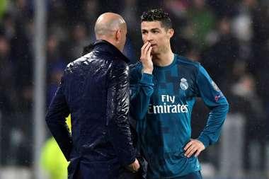 El Madrid sufrió en el primer gran día sin Cristiano ni Zidane. EFE