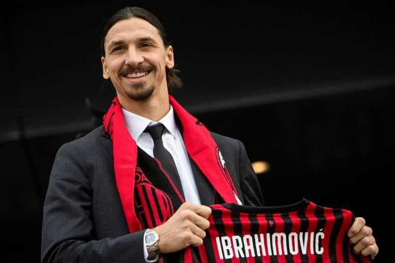 Ibrahimovic vows to kick-start Milan as Conte's Inter seek rare win at Napoli. AFP