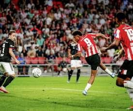 Arsenal bid for Donyell Malen. AFP