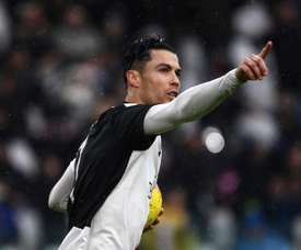 Ronaldo got a penalty to salvage a draw for Juventus versus Sassuolo. AFP