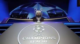 Suivez le direct du tirage des 8èmes de finale de la Ligue des champions. AFP