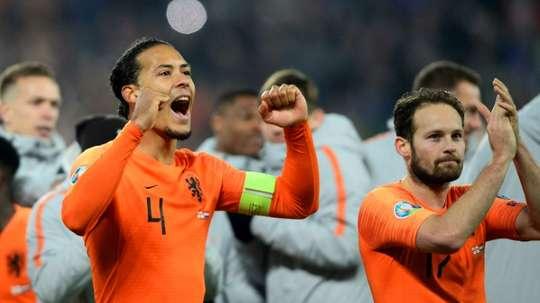 Van Dijk withdraws from Estonia match for personal reasons. AFP