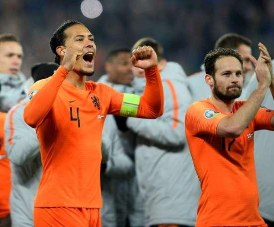 Holanda, favorita en el Grupo C. AFP/Archivo