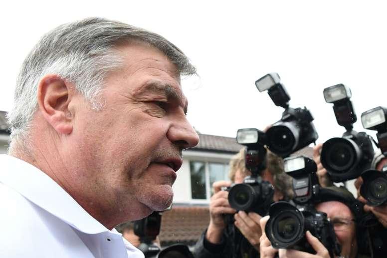 Allardyce, 62, lasted just 67 days as England boss. AFP