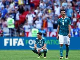 L'Allemagne place beaucoup de joueurs dans ce onze. AFP