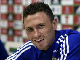 Northern Ireland's Evans apologises for wife's ref rant. AFP