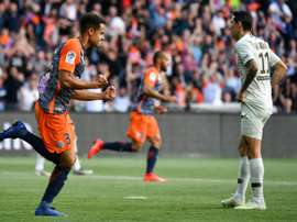 Troubled PSG throw away lead again to lose at Montpellier. AFP