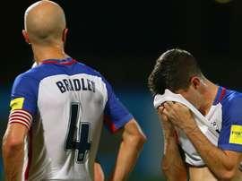 O ala do B. Dortmund já é uma das principais figuras da Seleção estadounidense. AFP