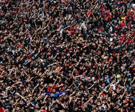 Wydad Athletic fans will be hoping to see their side triumph. AFP