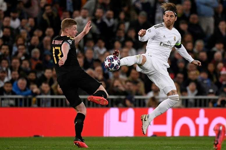 Confira como é o Real Madrid sem seu capitão. AFP