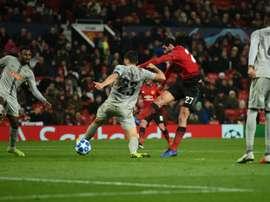 El United certificó su clasificación. AFP
