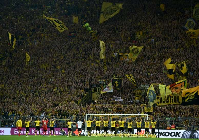 Dortmund, Celtic and Copenhagen are all up for the gong. AFP