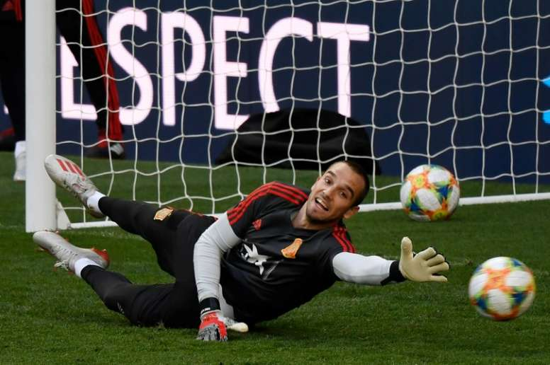 Spain goalkeeper Pau Lopez becomes Roma's fourth signing of the summer. AFP