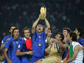 Zaccardo (left) was part of Italy's 2006 World Cup winning squad. AFP