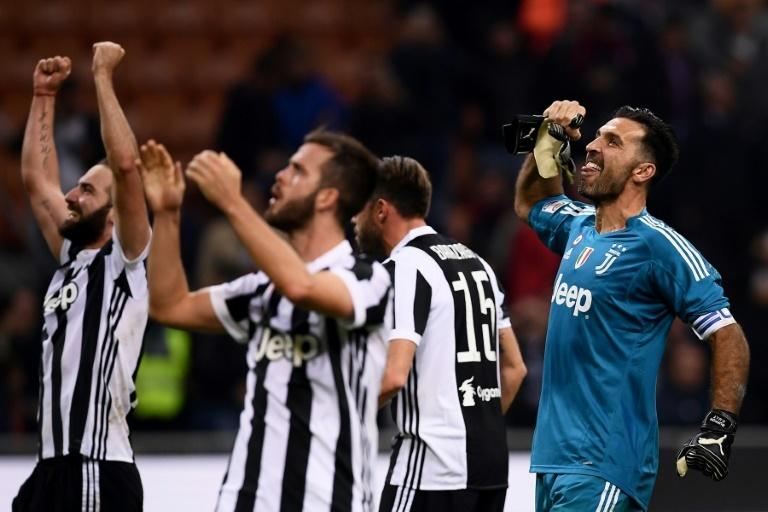 Pin La Juve se centra en el Milan antes de los cuartos de Champions. AFPWhatsappTwitterFacebookComentarios 0