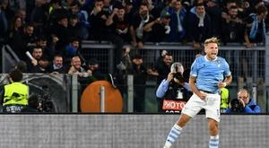 Immobile snatches Lazio draw as dramatic comeback denies Atalanta. AFP