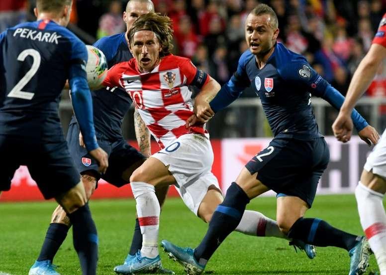 Modric regresa este lunes a Madrid y no estará ante Georgia