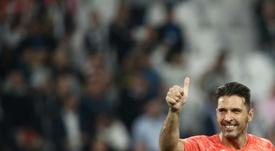 Buffon comparou os jogadores de futebol com dois gigantes do tênis. AFP