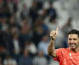 Buffon has had his say. AFP