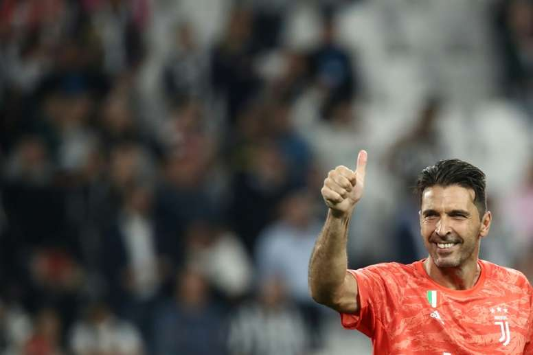 Buffon breaks yet another record. AFP