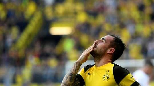 Paco Alcácer sale a gol cada 25 minutos. AFP