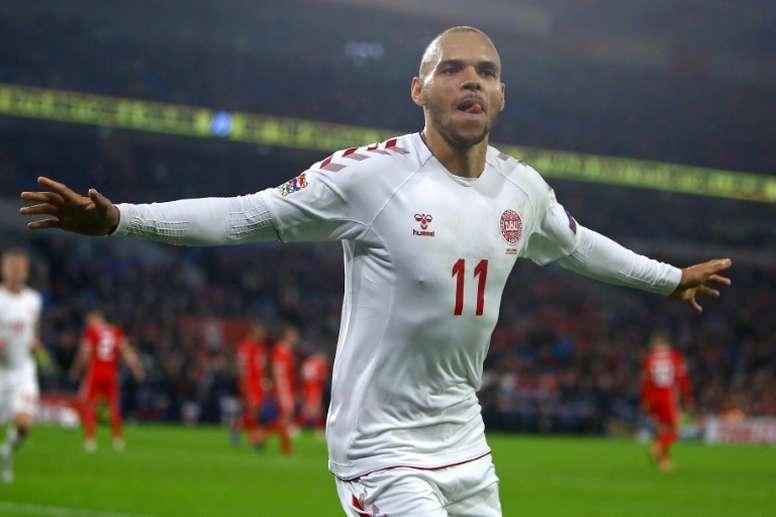 Denmark thwart Ireland again to join Switzerland at Euro 2020. AFP