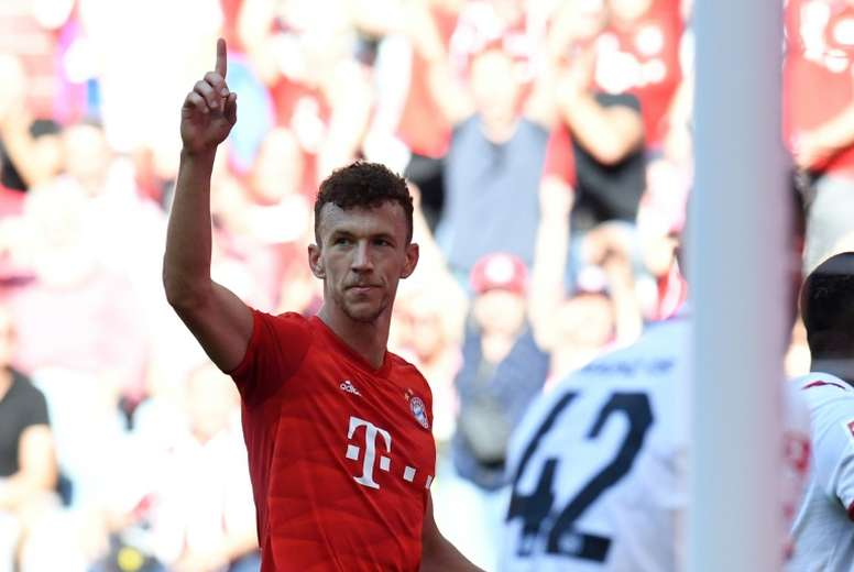 Perisic netted in Bayern's win over Mainz. AFP