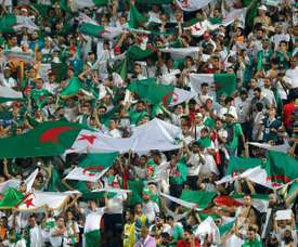 Thousands of Algeria fans have followed their country at this year's African Cup of Nations. AFP