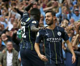 Silva sorry for tweet about Mendy. AFP