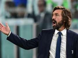 Pirlo falou após derrota da Juventus. AFP