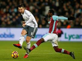 Obiang pourrait quitter West Ham. AFP