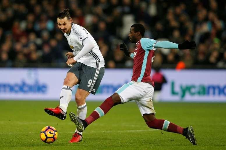 Pedro Obiang pisté par Everton. AFP